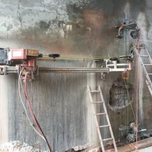 cięcie betonu piłami