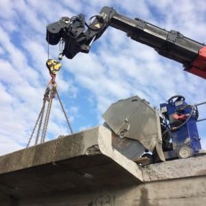 cięcie betonu